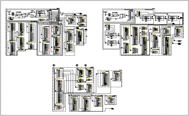 circuit diagrams detail view dwg file