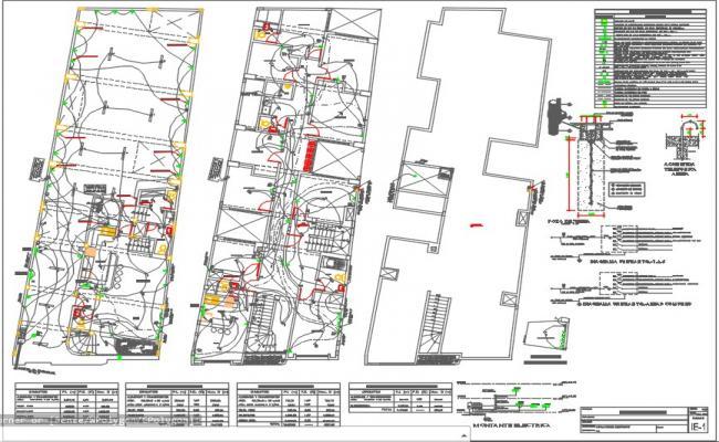 Electrical detail plan dwg.