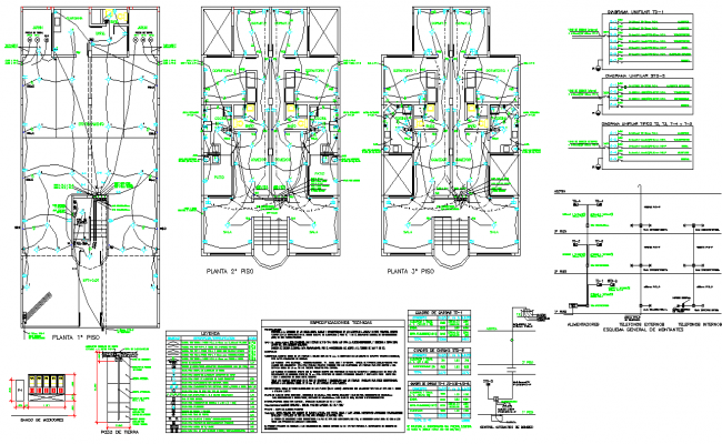 Electrical home plan layout file