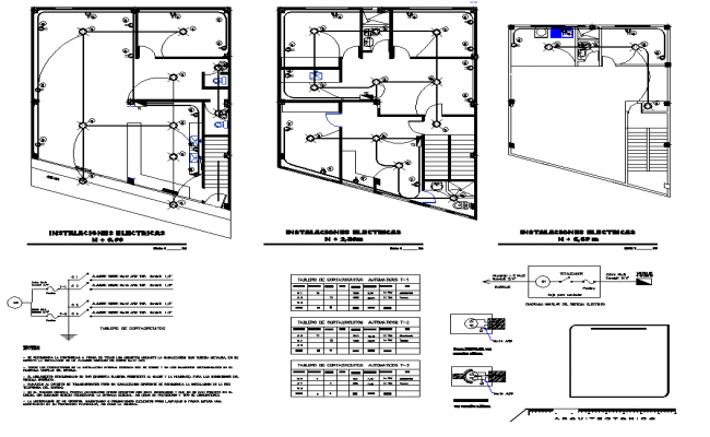 Residential Wiring Plan AutoCAD Drawings
