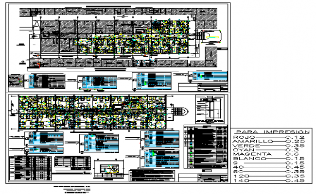 Electrical layout design drawing of hospital project  design drawing
