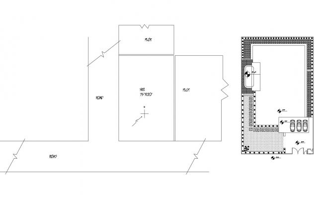 Electrical layout design of the house with  detail dimension in dwg file