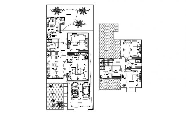 electrical layout plan details of single family house dwg file legend of electrical plan #15