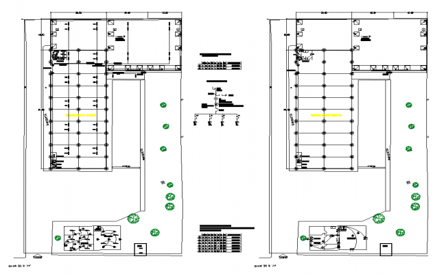 electrical site plan dwg