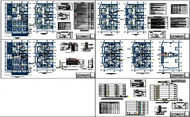 Electrical multifamiliar dwg