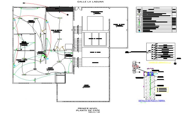 Electrical plan detail