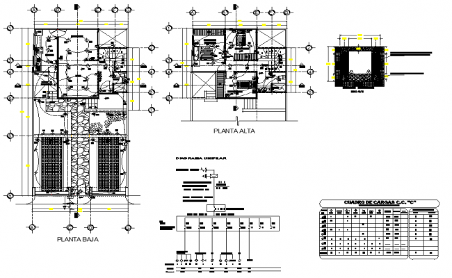 Electrical plan house plan layout file