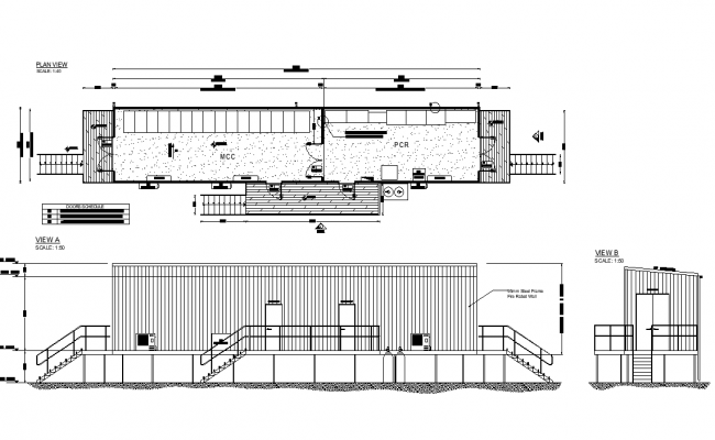 Electro mechanicals with room plan detail