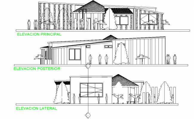 Elevation administrative plan detail