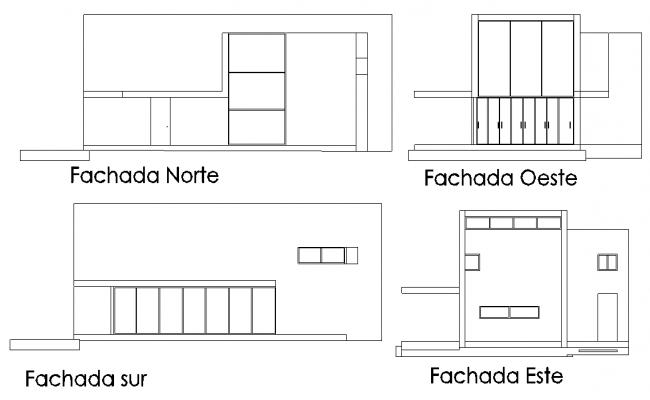 Elevation house plan detail