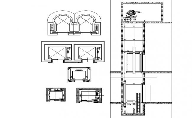 Elevator CAD Drawings Download