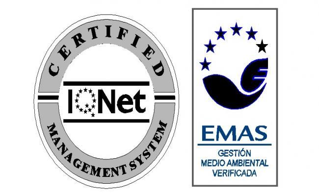 Emas logo 3d block cad drawing details dwg file
