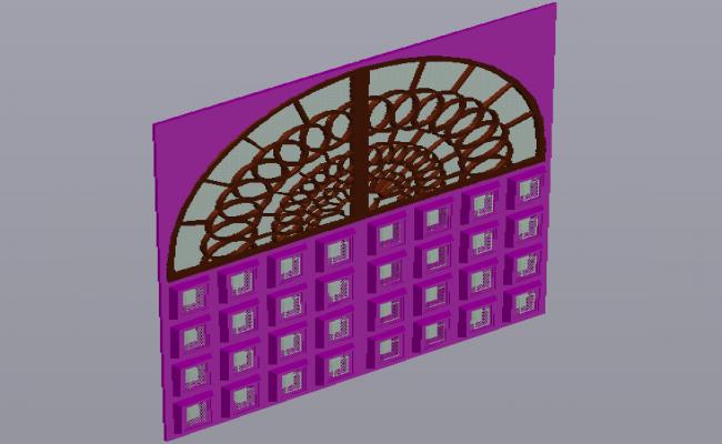 Entrance view design of residential door