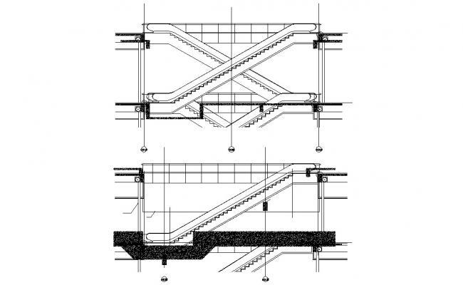 Escalator Section Design CAD File