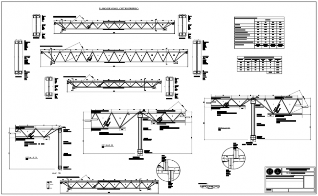 Extreme Beam Joist in dwg file