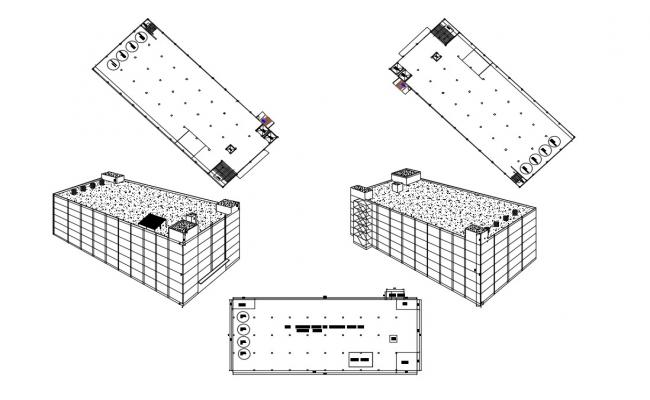 Factory 3D Auto CAD File Free Download