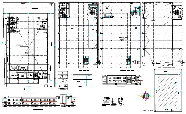 Factory plan detail
