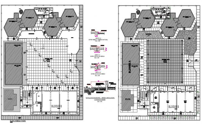 Factory Master Plan With RCC CAD Drawing