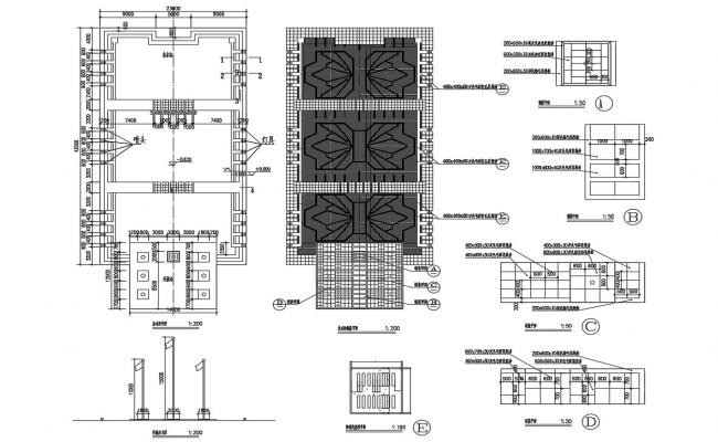False Ceiling Design Free DWG File