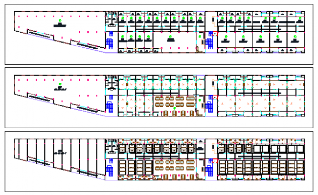 False ceiling detail design drawing of Hotel design drawing