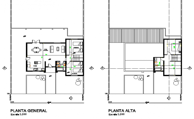 Family llanos plan detail