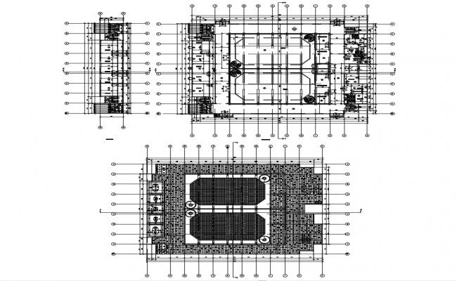 Film Studio Architecture DWG File