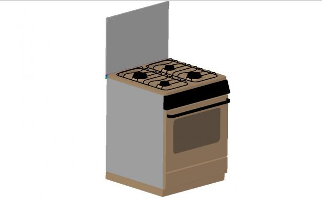 Fire place model of 3d kitchen cad drawing details dwg file