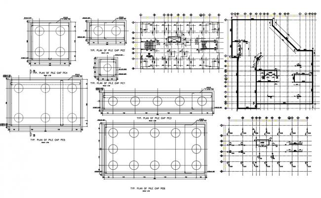 Fire protection system AutoCAD drawing