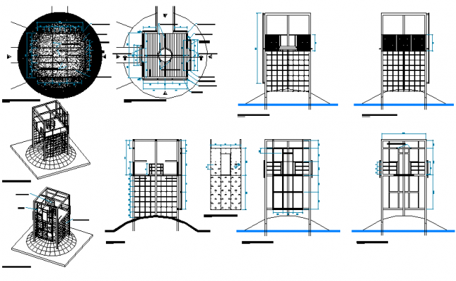 First multi-game level detail dwg file