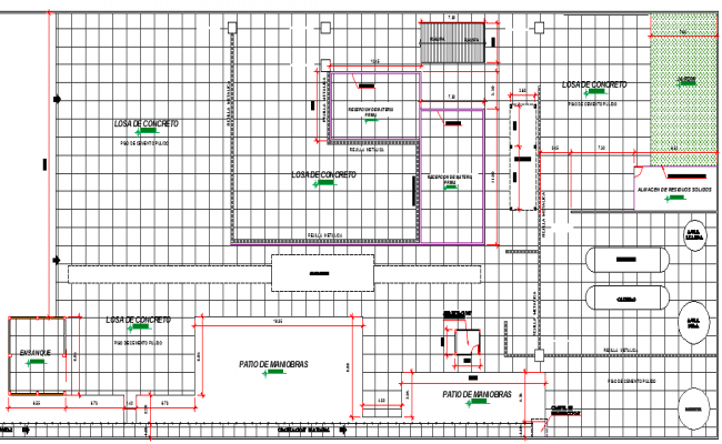 Fish Meal Factory Design and Distribution Elevation dwg file