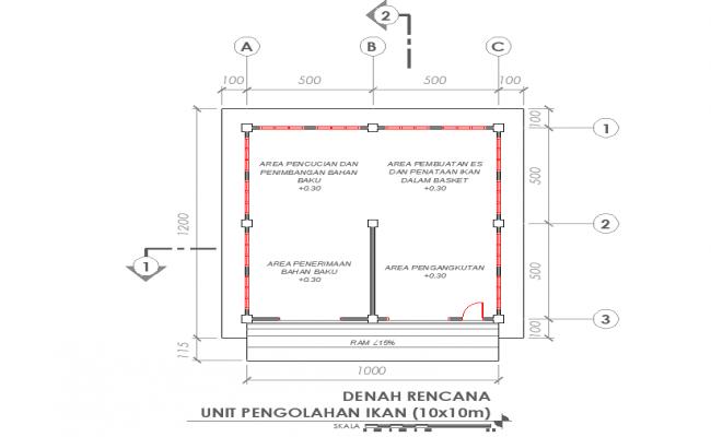 Fish processing unit plan detail