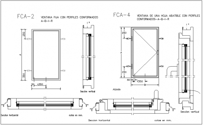 Window frame dwg frame design reviews for Window frame plan