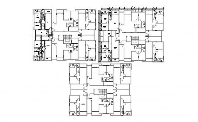 Flat Design CAD file Free Download