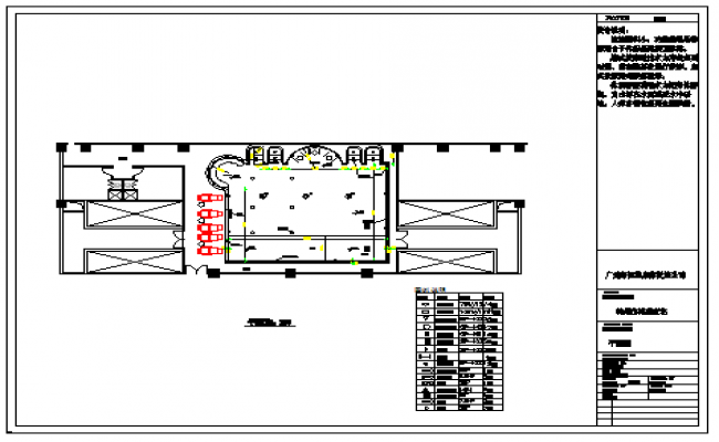 Floor Layout Plan of pool design drawing