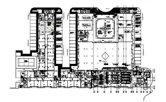 Floor Plan of Hotel Building