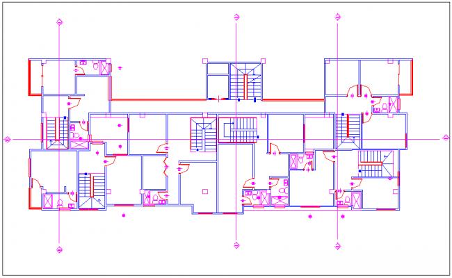 Floor design of bungalows