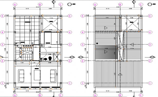 Floor plan 2d details