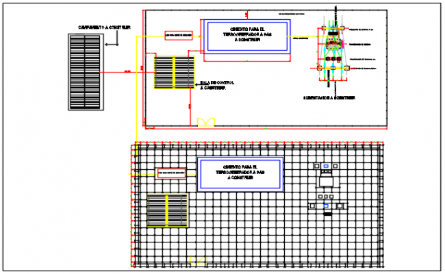 Floor plan detail dwg file
