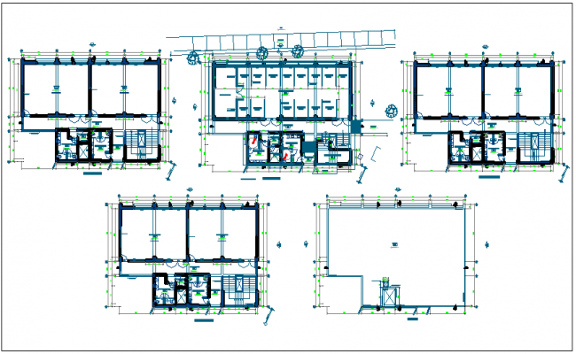 Floor plan for faculty of law dwg file