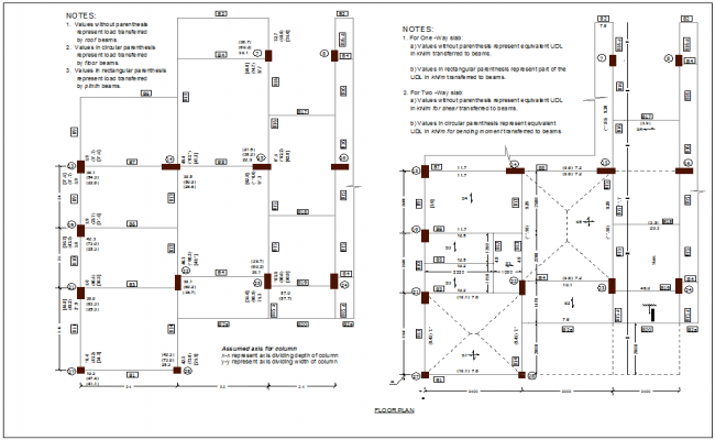 Floor plan of apartment design view dwg file
