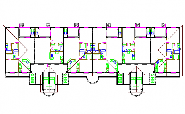 Floor site plan dwg file