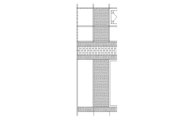 Flooring Design AutoCAD Drawing Free Download