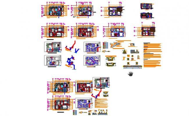 Floors housing