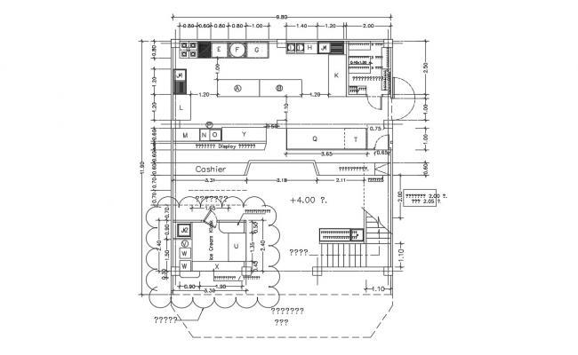 Food Court Plan