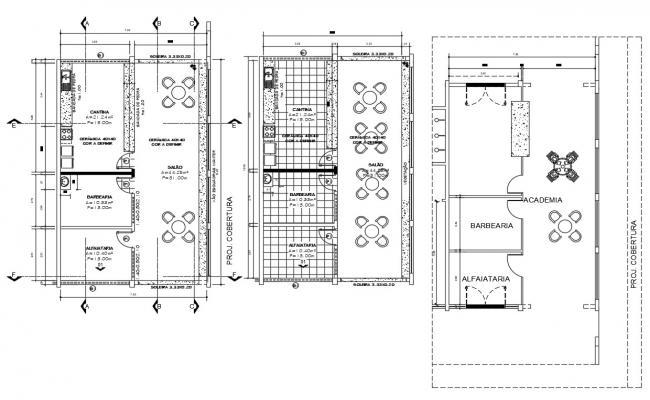 Food Studio CAD Drawing