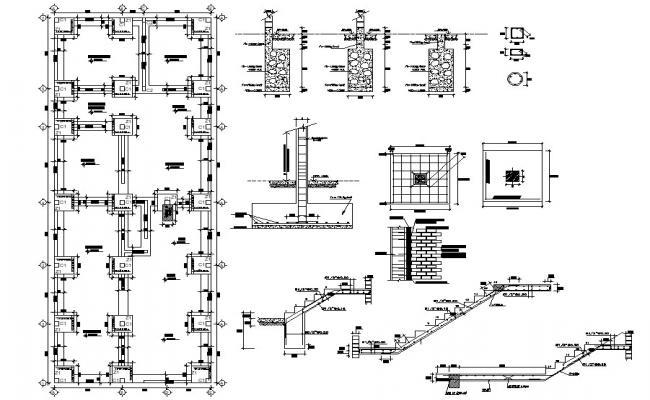 Foundation Plan AutoCAD File