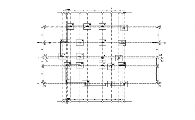 Foundation detail Lay-out