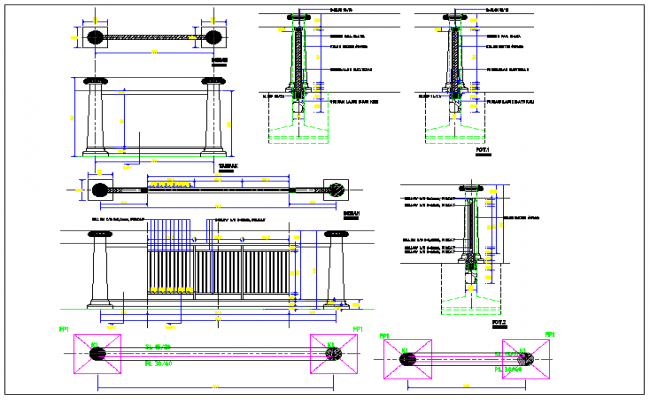 Foundation detail dwg file
