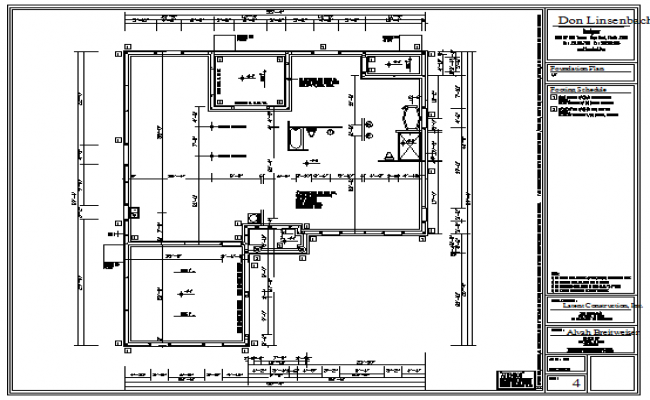 Foundation plan design drawing of house design drawing for Foundation plan drawing