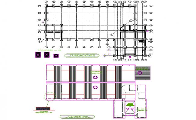 Foundation plan detail